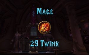 Wow Classic Level 29 Twink Mage Guide