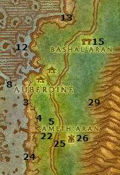 Wow Classic Leveling Guide Auberdine