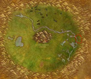 Wow Classic Midsummer Fire Festival Guide Images Un'goro Bonfire Map Location
