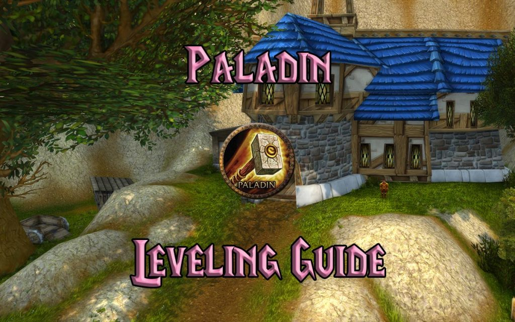Wow Classic Paladin Leveling Guide
