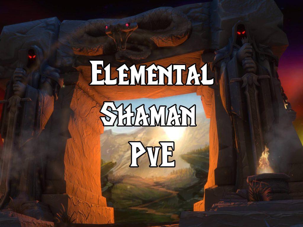 Wow Classic Pve Elemental Shaman Guide