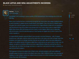 Wow Classic Qol Changes Black Lotus And Wsg