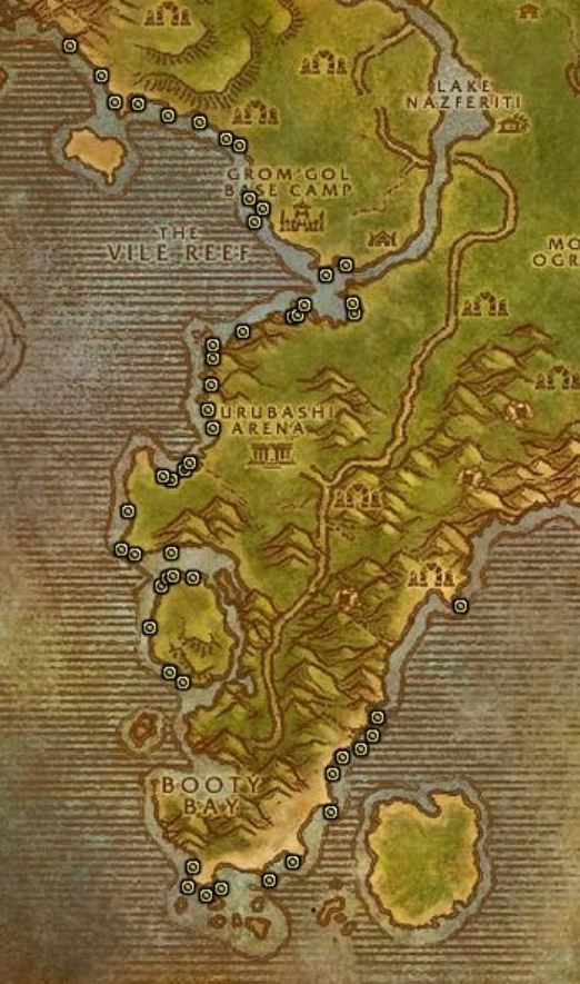 Wow Classic Stv Fishing Extravaganxza Guide Images Node Map