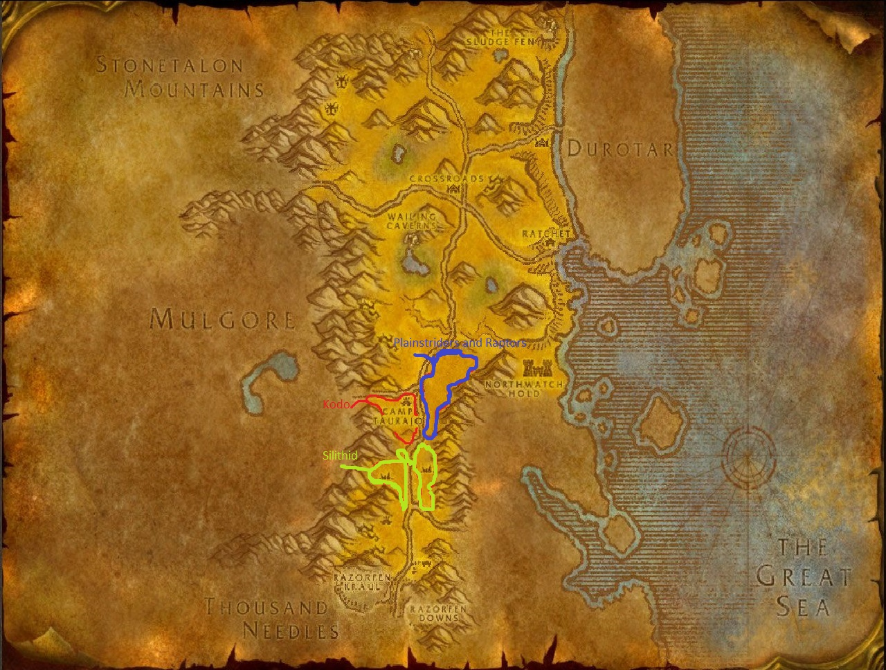 Wow Classic Skinning Guide Barrens