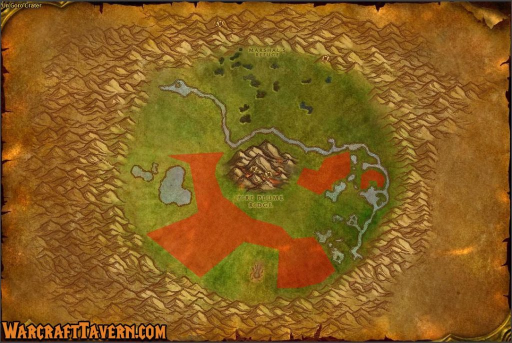 Wow Classic Ungoro Crater Skinning Locations