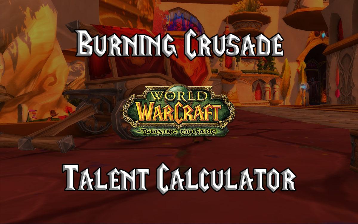 Wow Tbc Talent Calculator