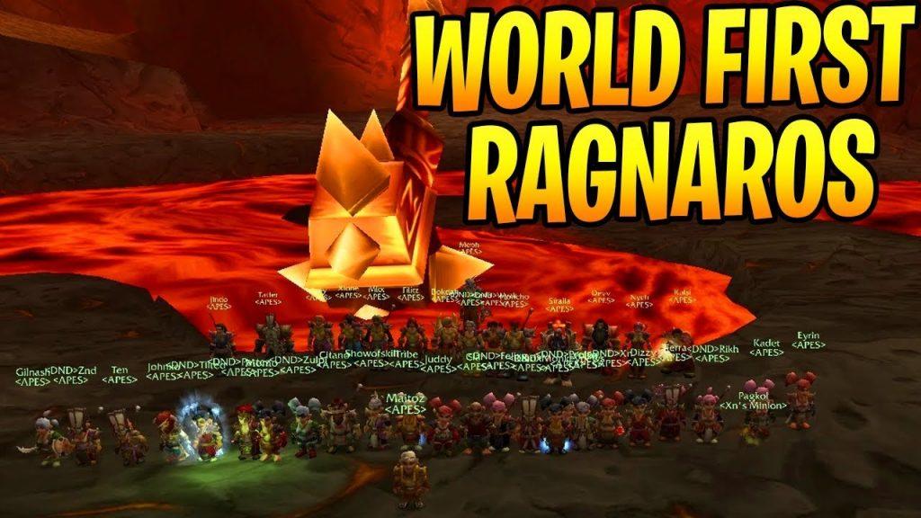 World First Ragnaros