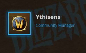 Ythisens laid off from Blizzard, signals loss of most vocal community manager for WoW Classic
