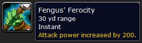 fengus ferocity