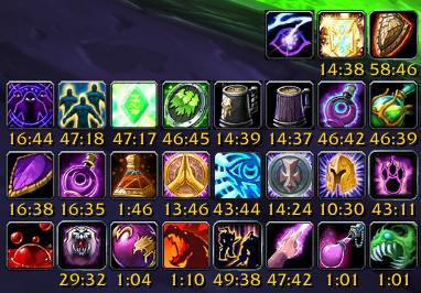 wow classic warlock raiding flasks potions
