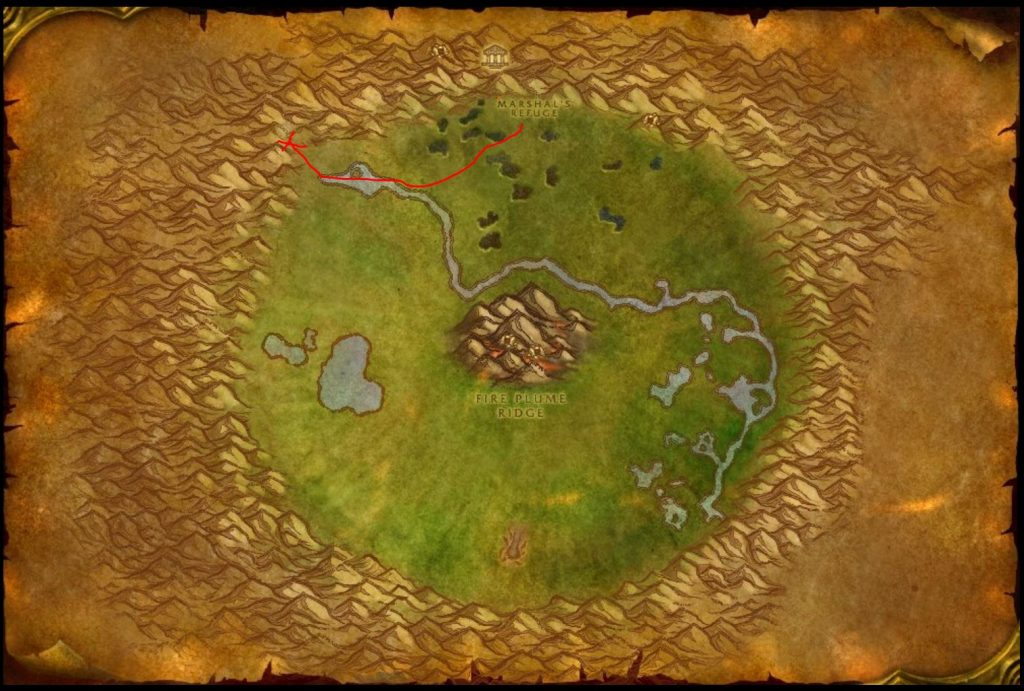 Classic How To Get To Silithus Guide Images Ungoro Map