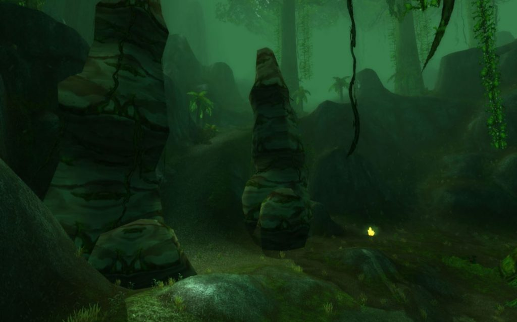 Classic How To Get To Silithus Guide Images Weird Rock Pillars
