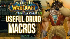 Druid Macros