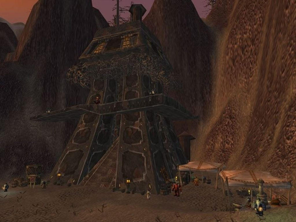 How To Get To Searing Gorge Thorium Point