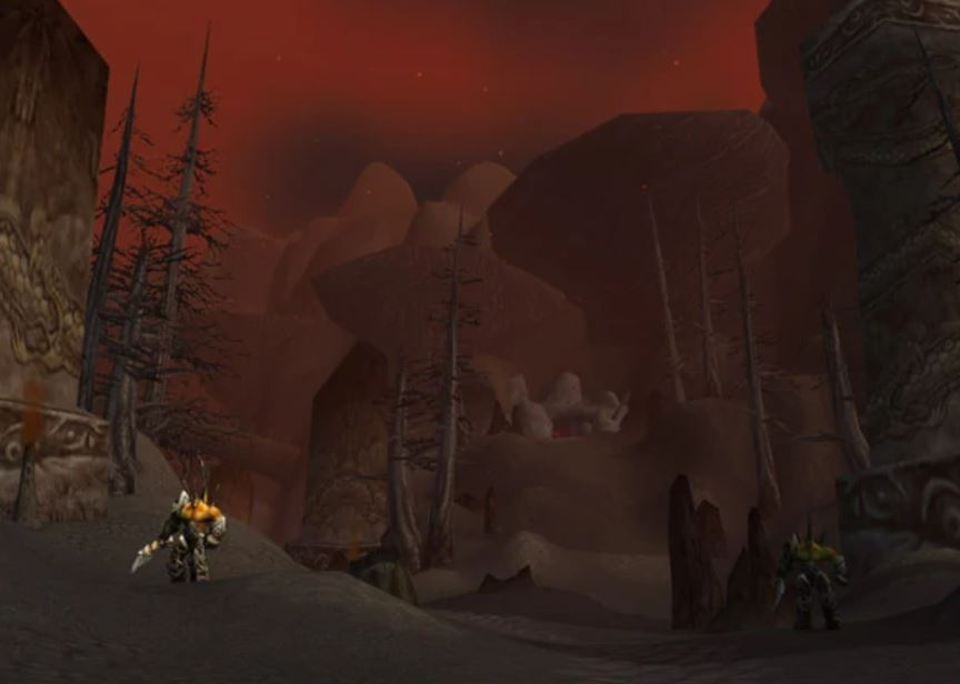 Wow Classic How To Get To Winterspring Guide Images Winterspring Darkwhisper Gorge