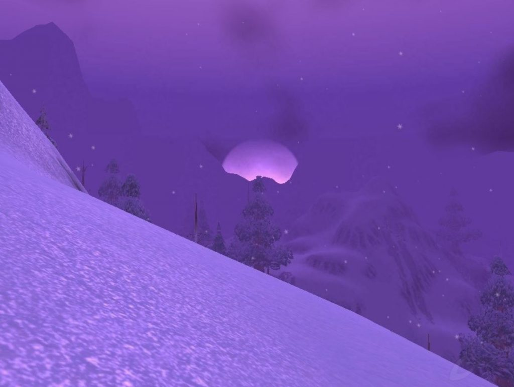 Wow Classic How To Get To Winterspring Guide Images Winterspring Zone Shot