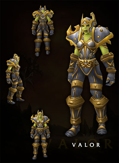 Armorset Orc Female Warrior 1