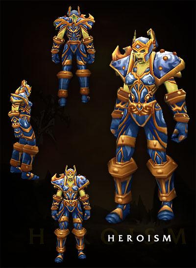Armorset Orc Female Warrior 2