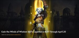 Blizzard Add 100% Experience Buff Through April 20 In World Of Warcraft