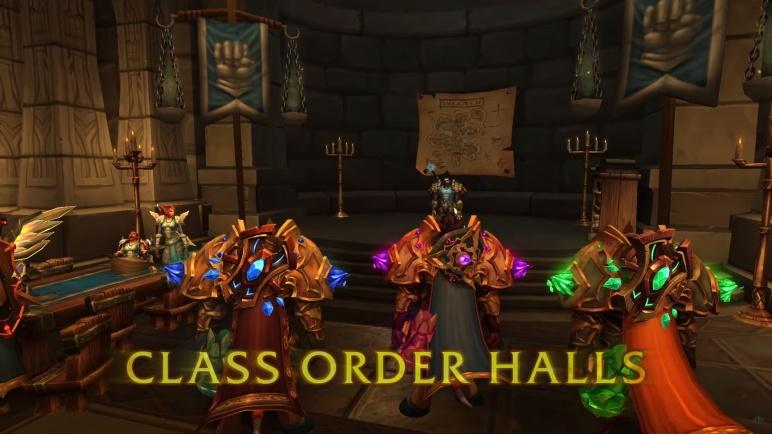 Class Halls Legion World of Warcraft