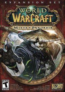 Mists of Pandaria World of Warcraft box art cover design