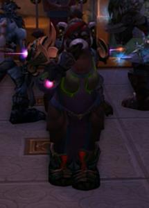 Pandaran Hunter Blow Kiss World of Warcraft