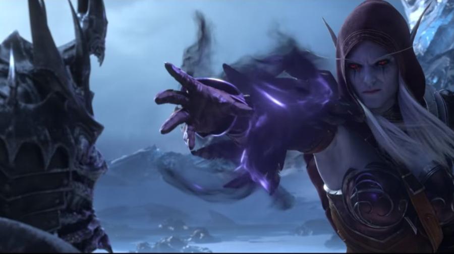 World of Warcraft Shadowlands Trailer Sylvanas