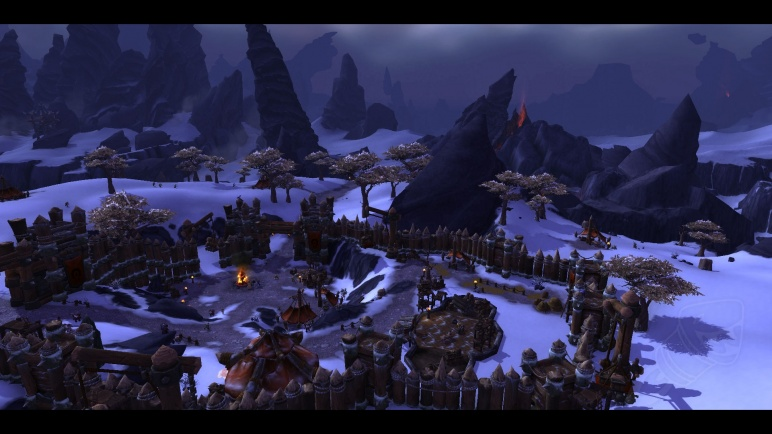 Warlords of Draenor Garrison Warcract Horde