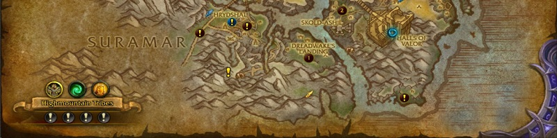 World of Warcraft Legion End Game World Quests