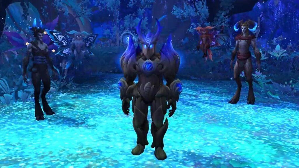 World Of Warcraft Shadowlands Ardenweald Night Fae Armor