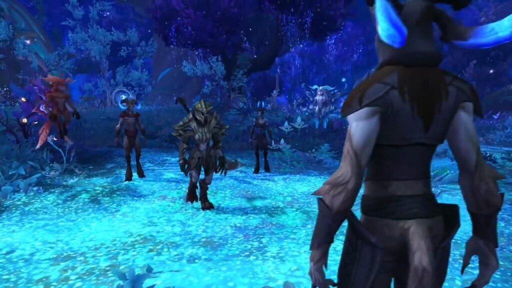 World Of Warcraft Shadowlands Ardenweald Night Fae Initiation