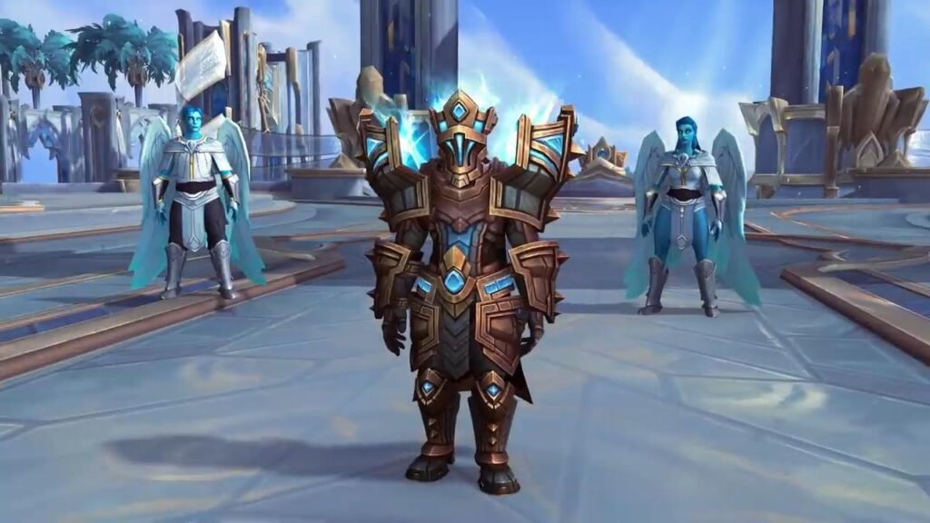 World Of Warcraft Shadowlands Bastion Kyrian Armor