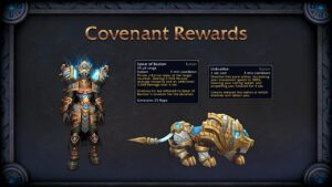 World Of Warcraft Shadowlands Bastion Kyrian Covenant Rewards