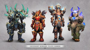 World Of Warcraft Shadowlands Covenantplatesets