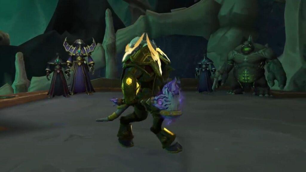 World Of Warcraft Shadowlands Maldraxxus Necrolords Initiation