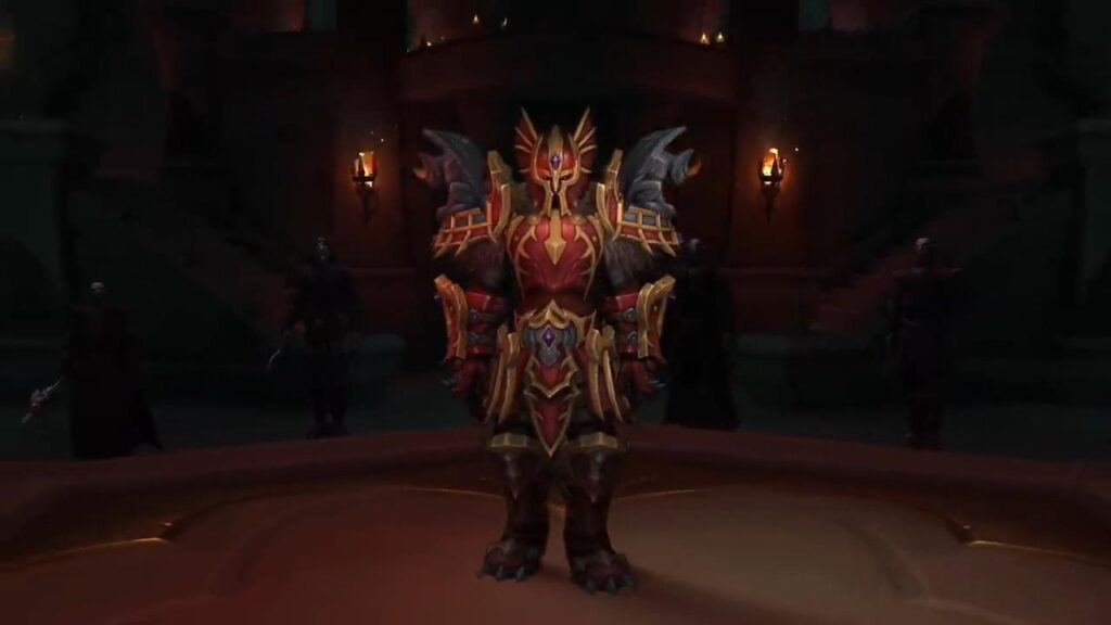 World Of Warcraft Shadowlands Revendreth Venthyr Armor
