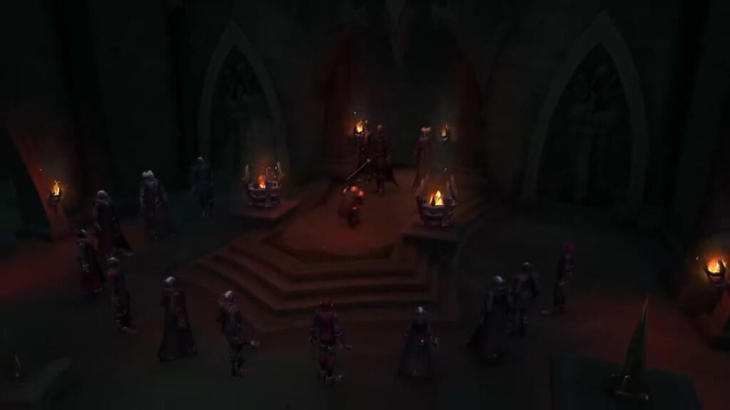 World Of Warcraft Shadowlands Revendreth Venthyr Initiation