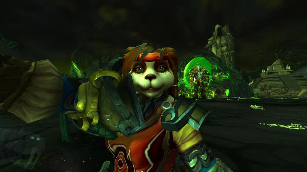 Wow hellfire citadel warcraft archimond Selfie