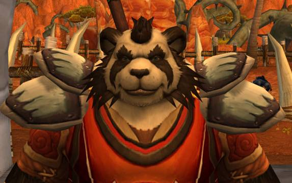 Mists of Pandaria wow world of warcraft pandaren panda monk