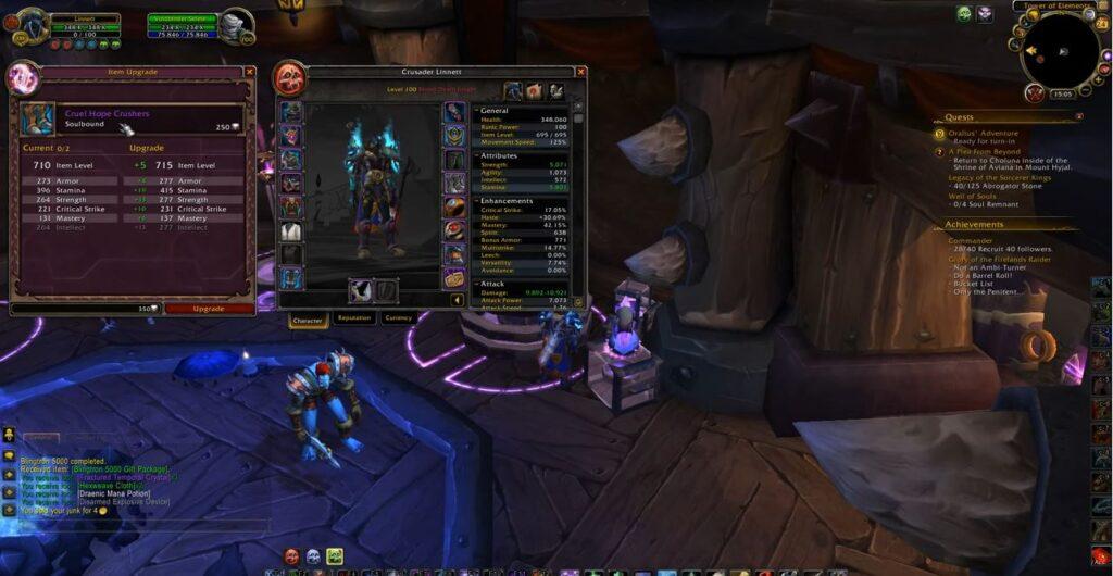 Blizzard Reintroduces Valor Points In Shadowlands