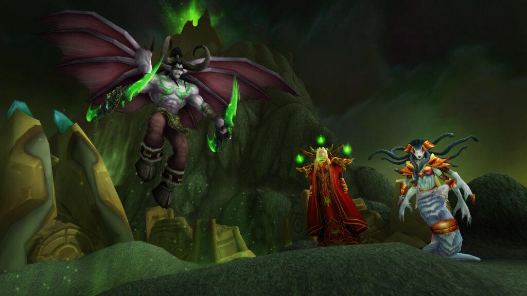 Burning Crusade Classic Confirmed Blizzard Leak Presskit Blizzcon