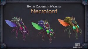 Shadowlands Blizzconline Necrolord Flying Mount