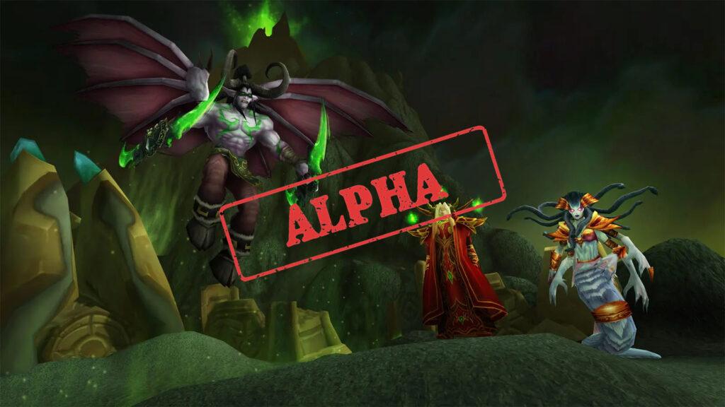 tbc classic internal alpha shows up