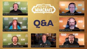 Warcraft Qanda