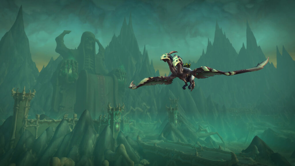 Wow Shadowlands Chains Of Domination Blizzconline Flying