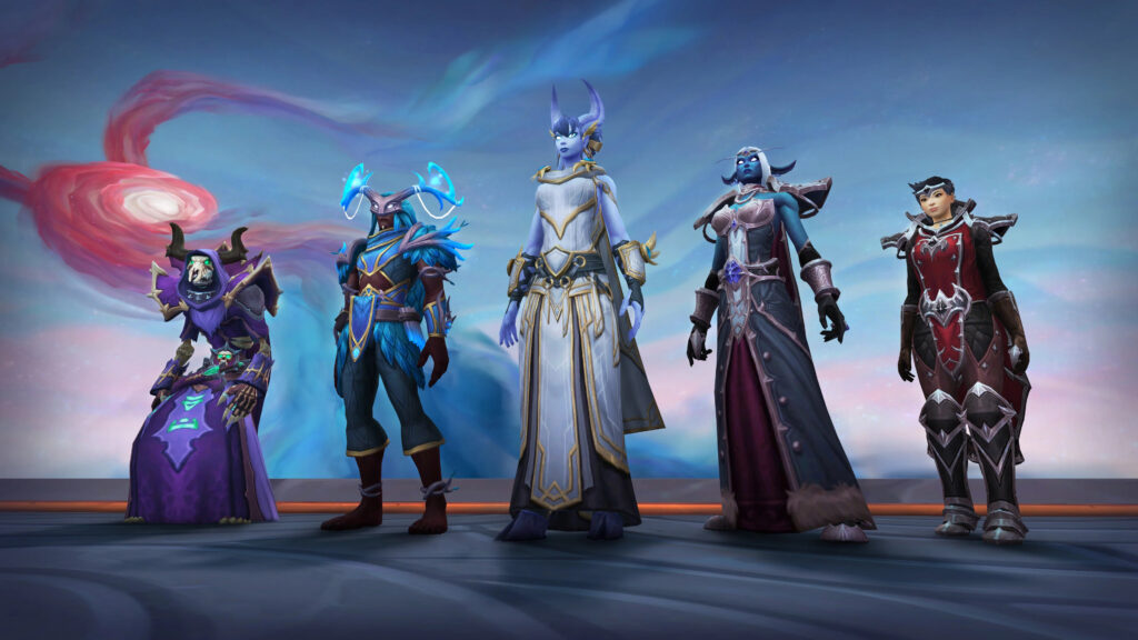 Wow Shadowlands Chains Of Domination Blizzconline New Covenant Armor