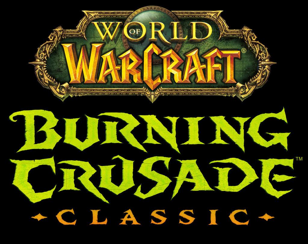 World Of Warcraft The Burning Crusade Classic Tbc Logo