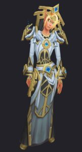 blood elf selfless watcher's kyrian covenant cloth armor