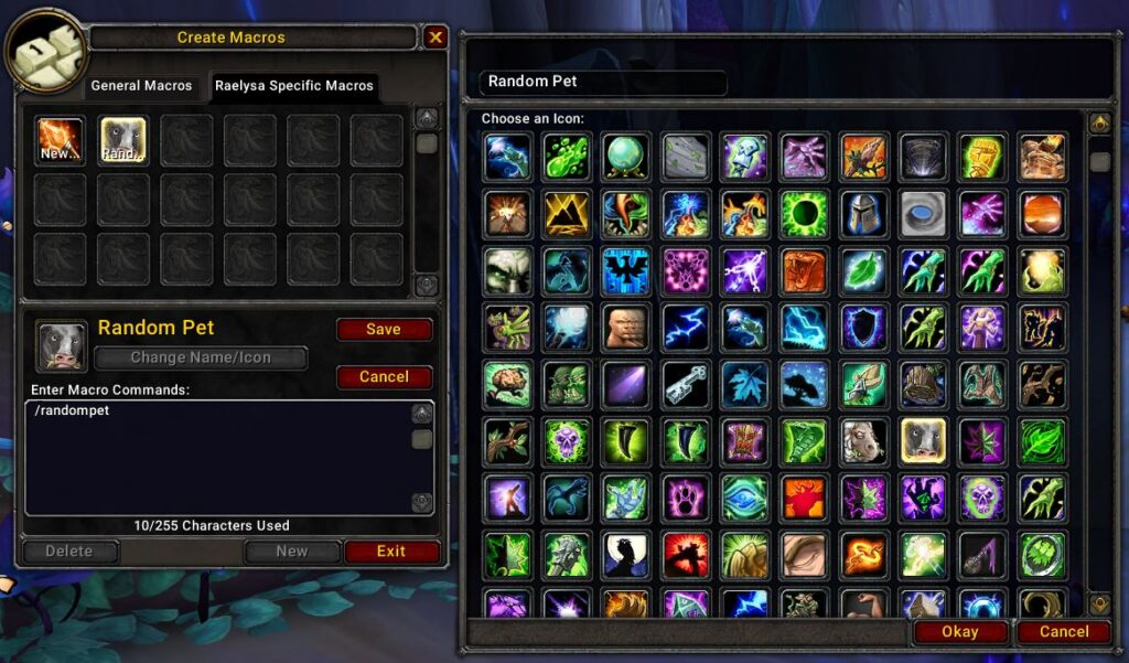 how to make macros in world of warcraft