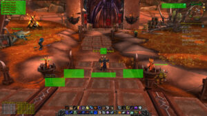 improved blizzard ui wow addon config move